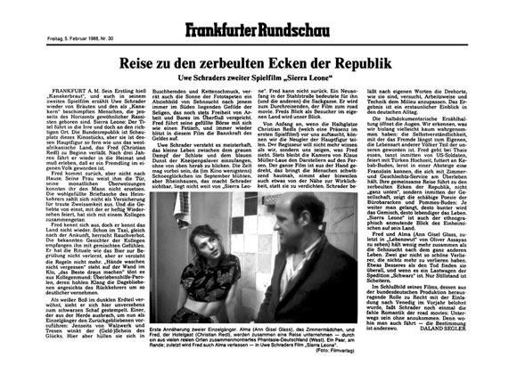 Sierra Leone - Zeitung - Frankfurter Allgemeine Zeitung