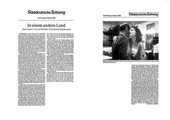 Sierra Leone - Kritik Süddeutsche Zeitung